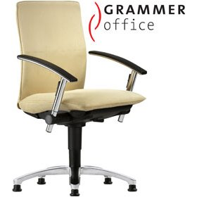 Grammer Office Tiger UP Medium Back Microfibre Swivel Conference Chair £444 - Office Chairs