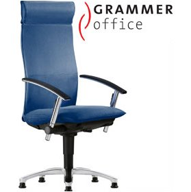 Grammer Office Tiger UP Fabric Swivel Conference Armchair With Headrest £845 - Office Chairs