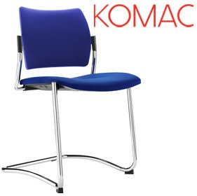 Komac Dream Cantilever Upholstered Chair £127 - Office Chairs
