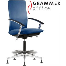 Grammer Office Tiger UP High Back Fabric Counter Chair £550 - Office Chairs