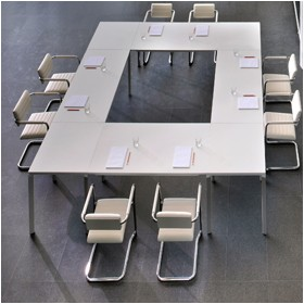Meet-U Rectangular Bridge Tops £0 - Meeting Room Furniture