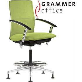 Grammer Office Tiger UP Medium Back Mesh Counter Chair £554 - Office Chairs