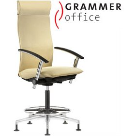 Grammer Office Tiger UP Microfibre Counter Armchair With Headrest £1028 - Office Chairs