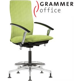 Grammer Office Tiger UP High Back Mesh Counter Chair £621 - Office Chairs