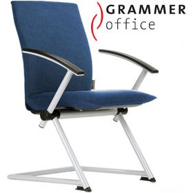 Grammer Office Tiger UP Medium Back Microfibre Conference Chair £444 - Office Chairs