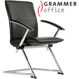 Grammer Office Tiger UP Medium Back Leather Conference Chair £396 - Office Chairs