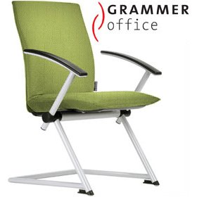 Grammer Office Tiger UP High Back Textile Mesh Conference Chair £471 - Office Chairs