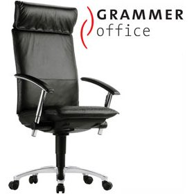 Grammer Office Tiger UP Leather Executive Chair £868 - Office Chairs