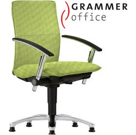 Grammer Office Tiger UP Medium Back Textile Mesh Swivel Conference Chair £458 - Office Chairs