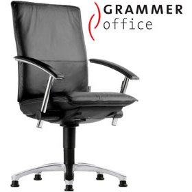 Grammer Office Tiger UP High Back Leather Swivel Conference Chair £454 - Office Chairs