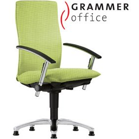 Grammer Office Tiger UP High Back Textile Mesh Swivel Conference Chair £470 - Office Chairs