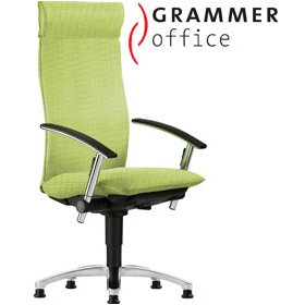 Grammer Office Tiger UP Textile Mesh Swivel Conference Armchair With Headrest £931 - Office Chairs