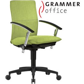 Grammer Office Tiger UP Medium Back Textile Mesh Task Chair £414 - Office Chairs