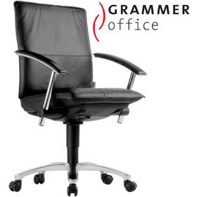 Grammer Office Tiger UP Medium Back Leather Task Chair £375 - Office Chairs