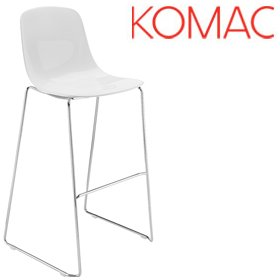 Komac Loop Bar Stool £181 - Bistro Furniture