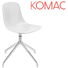 Komac Loop Swivel Base Chair £179 - Bistro Furniture