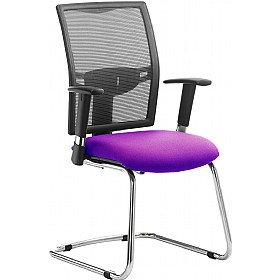 Fresh Mesh Back Cantilever Visitor Chair £233 - Office Chairs