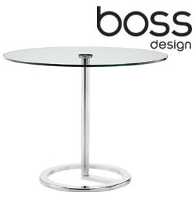 Boss Design Rota Glass Table £366 - Bistro Furniture