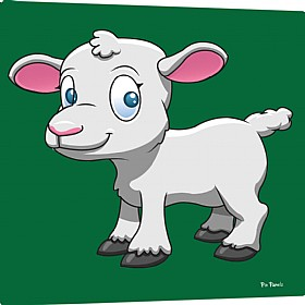 Pin Panelz Primary Graphics Janet The Sheep Noticeboards £56 - Display/Presentation