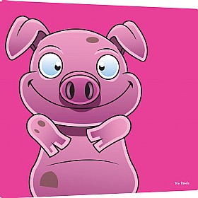 Pin Panelz Primary Graphics Alfie Pig Noticeboards £56 - Display/Presentation