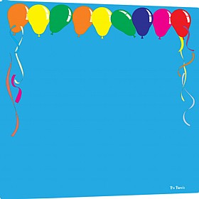 Pin Panelz Primary Graphics Balloons Noticeboards £56 - Display/Presentation