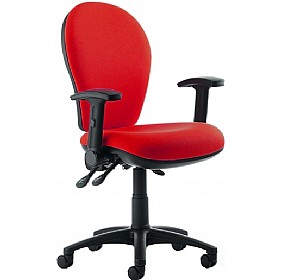 Urban High Back Operator Chair With Height Adjustable Arms