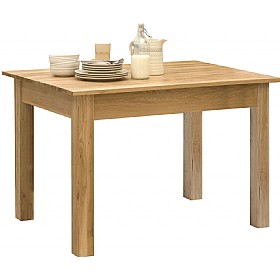 Cavalli Solid Oak Dining Table £362 - Home Office Furniture