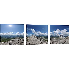 Pin Panelz Panoramic Rocky Summit Noticeboards £168 - Display/Presentation