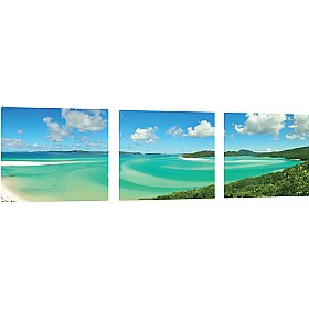 Pin Panelz Panoramic Tropical Lagoon Noticeboards £168 - Display/Presentation