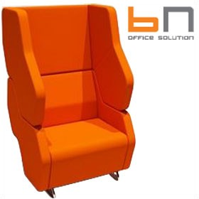 BN Hexa Standalone High Back Chair £1698 - Reception Furniture