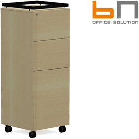 BN SQart Managerial Veneer Panel Door Caddy £1192 - Office Desks