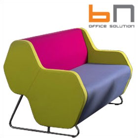 BN Hexa Standalone 2-Seater Sofa £1531 - Reception Furniture