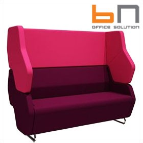 BN Hexa Standalone 2-Seater High Back Sofa £2211 - Reception Furniture