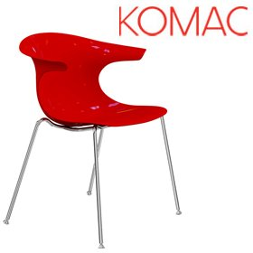 Komac Loop 4 Leg Chair £150 - Bistro Furniture