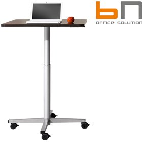 BN SQart Managerial Veneer Square Mobile Tables £288 - Office Desks