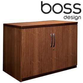 Boss Design 2 Door Credenza Storage Unit £485 - Meeting Room Furniture