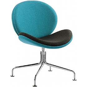 Giggle 4 Leg Swivel Reception Chair £408 - Reception Furniture