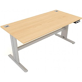 Elite I-Frame Rectangular Electric Sit-Stand Height Adjustable Desks £1056 - Office Desks