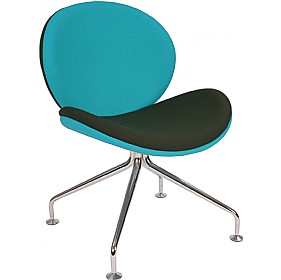 Giggle 4 Leg Reception Chair £349 - Reception Furniture