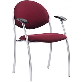 Stella 4 Leg Conference Armchair £134 - Office Chairs