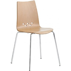 Barista Beech Bistro Side Chair £146 - Bistro Furniture