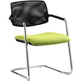 Alina Mesh Back Cantilever Conference Chair £209 - Office Chairs