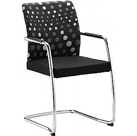 Panache Full Back Cantilever Visitor Chair £265 - Office Chairs