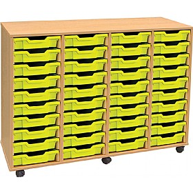 4Store 40 Tray Shallow Storage Unit £311 - Education Furniture