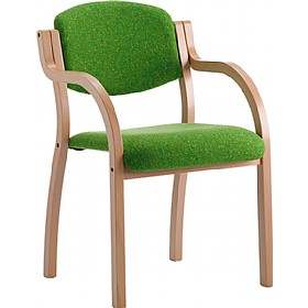 Clio 4 Leg Stacking Armchair £164 - Reception Furniture