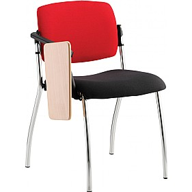 Alina 4 Leg Writing Tablet Chair £197 - Office Chairs