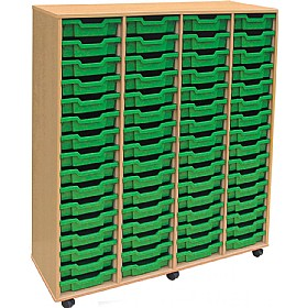 4Store 64 Tray Shallow Storage Unit £0 - Education Furniture