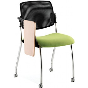Alina 4 Leg Mesh Back Writing Tablet Chair £228 - Office Chairs