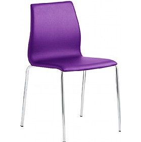 Java Fully Upholstered Bistro Side Chair £170 - Bistro Furniture