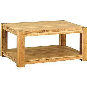 Medara Large Solid Wood Coffee Table £183 - Reception Furniture
